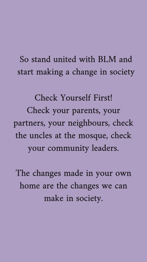 stand_united_wih_BLM_to_make_changes_in_society_check_yourself_first_check_your_parents_partners_neighbours_and_community_leaders_because_the_changes_we_make_at_home_are_the_changes_we_make_in_society